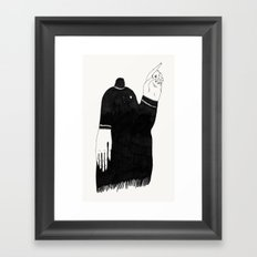 Uh uh.  Framed Art Print