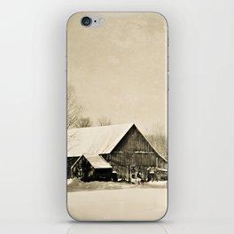 Winter Barn iPhone Skin