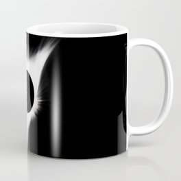 The Eclipse (Black and White) Coffee Mug