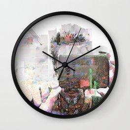 Electronic Eye Wall Clock