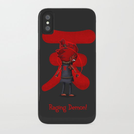 Raging Demon iPhone Case