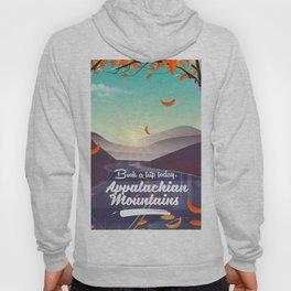Appalachian Mountains travel poster Hoody