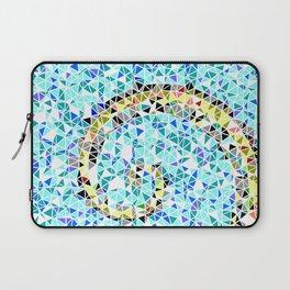 Mediterranean Wave Mosaic Laptop Sleeve