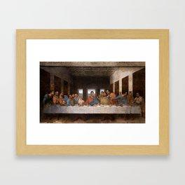 The Conner Supper Framed Art Print