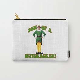 SON OF A NUTCRACKER! Buddy The Elf Christmas Movie Carry-All Pouch