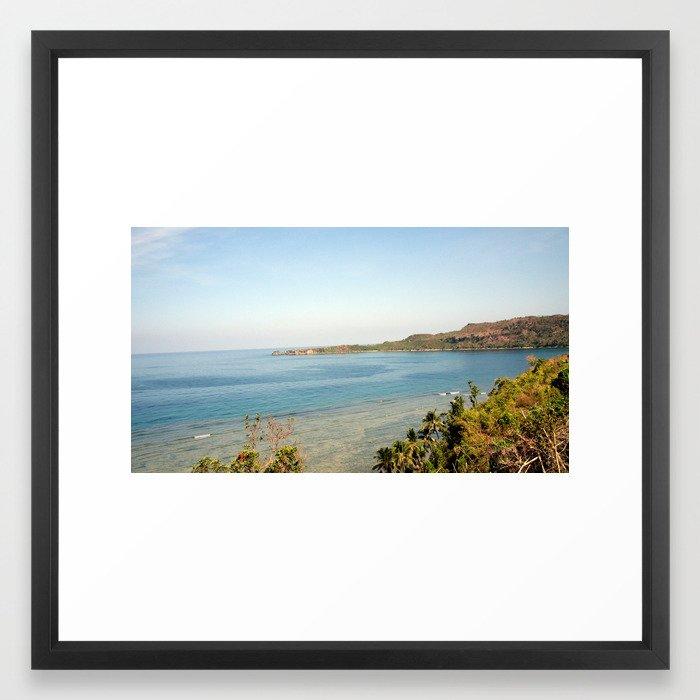 Agno Beach Framed Art Print