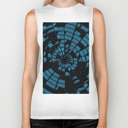 Abstract Dartboard Biker Tank