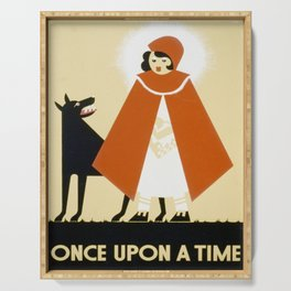 Red Riding Hood Serving Tray