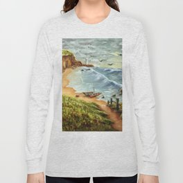 Strumble Head, Pembrokeshire Long Sleeve T-shirt