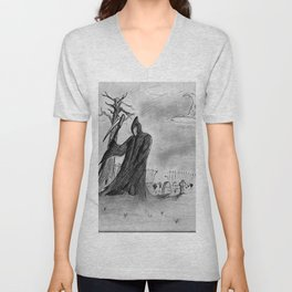 Mourning Unisex V-Neck