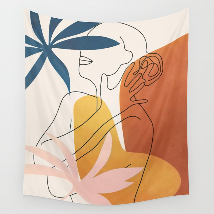 Minimal Movement I Wall Tapestry