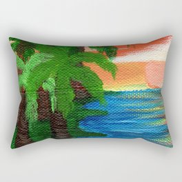 Vacation Views Rectangular Pillow