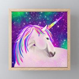 Celestial Unicorn Framed Mini Art Print