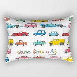 Cars for all Rectangular Pillow