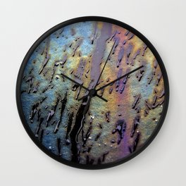 Drips Wall Clock