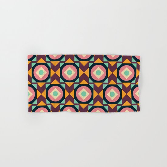 Geometric#31 Hand & Bath Towel