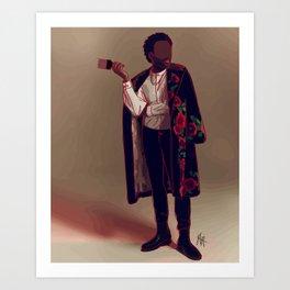 Childish Gambino Fashion Illustration || Fashion Illustration Print Art Print