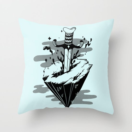 Releasing Dark Matter Throw Pillow