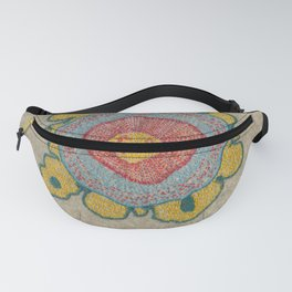 Growing - Pinus 1 - plant cell embroidery Fanny Pack