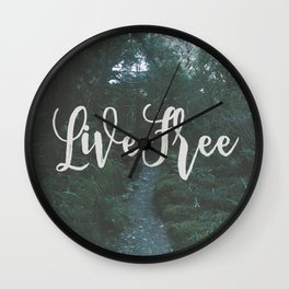 """the clearest way into the Universe is through a forest wilderness."" Wall Clock"