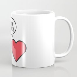 head vs. heart Coffee Mug