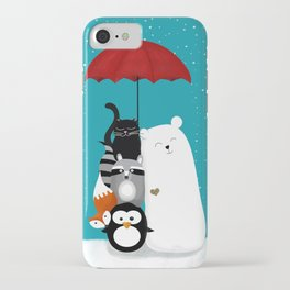 Umbrella party iPhone Case
