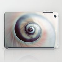 seashell iPad Cases featuring Seashell by elle moss
