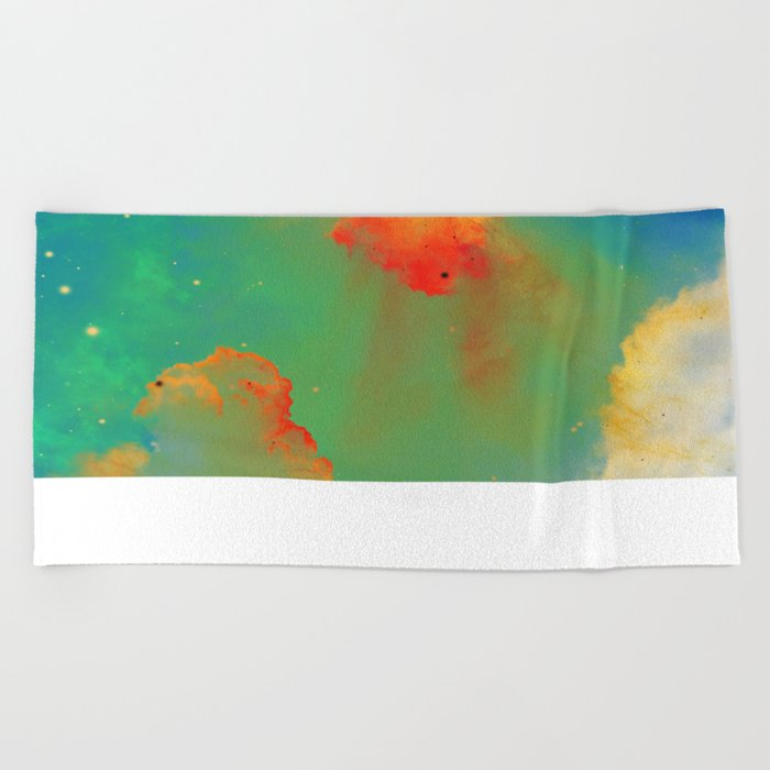 Goldfishes of the Universe Beach Towel