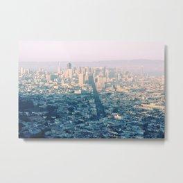 San-Francisco city Metal Print