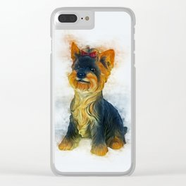 Yorkshire Terrier Clear iPhone Case