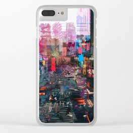 Sweet City Clear iPhone Case