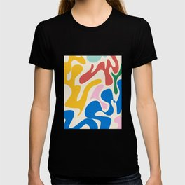 Community abstract T-shirt