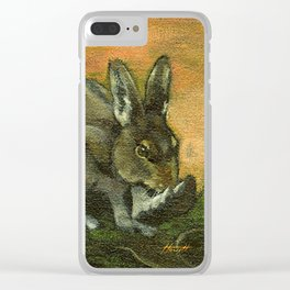 BunnyFoot Clear iPhone Case