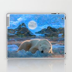 Just Chilling and Dreaming (Polar Bear) Laptop & iPad Skin