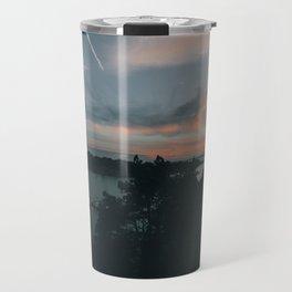 Sunset over Brännskär Travel Mug