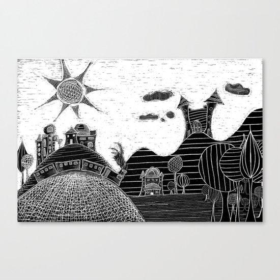 castle bubu Canvas Print