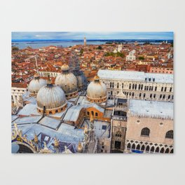 Venezia, Italy ( view from Campanile San Marco ) Canvas Print