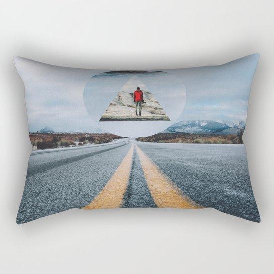 the road so far... Rectangular Pillow