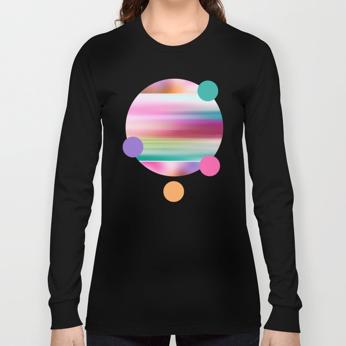 The Sound of Light and Color | PASTEL TRIPLET Long Sleeve T-shirt