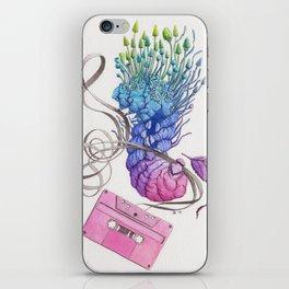 Caterpillar Dance with Tape iPhone Skin