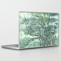grass Laptop & iPad Skins featuring GRASS by AMULET