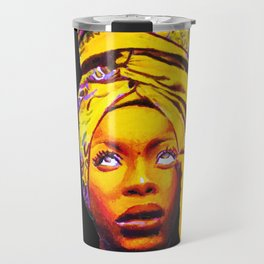 Erykah Badu Painting Travel Mug