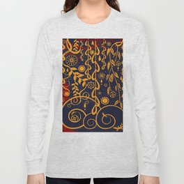 Under the Red Tree Long Sleeve T-shirt