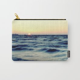 Sunrise over the sea image Carry-All Pouch