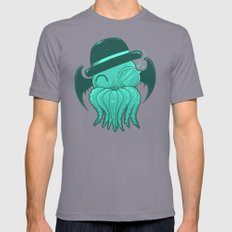 Classy Cthulhu  Mens Fitted Tee Slate X-LARGE