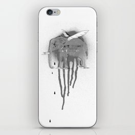 Don't forget to fly iPhone Skin