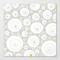 eggs Canvas Prints featuring Eggs by Alisa Galitsyna