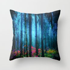 Magicwood #Night Throw Pillow