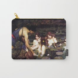 Hylas and the Nymphs,  John William Waterhouse Carry-All Pouch