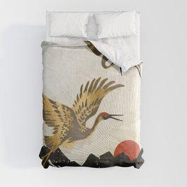 Elegant Flight II Comforters